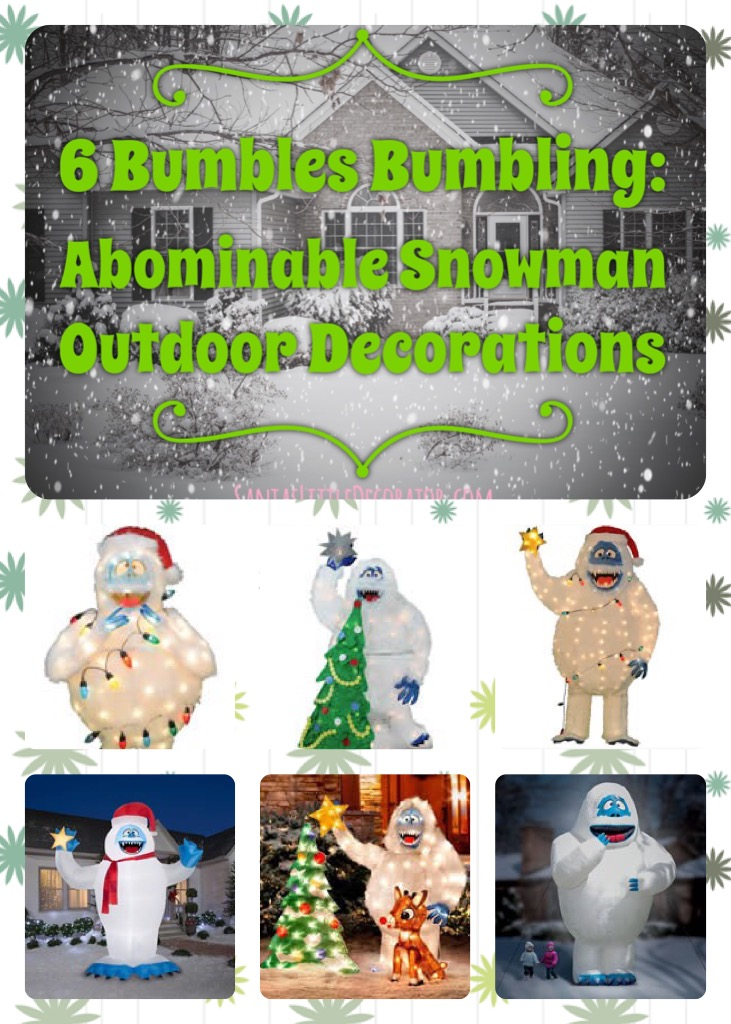 Abominable Snowman Outdoor Decoration